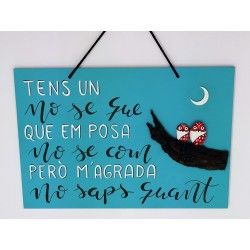 16.Cartel rectangular frase...