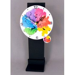 12. Reloj redondo péndulo...