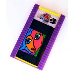Caja libreta bolsillo + pen drive de 32GB. Petra