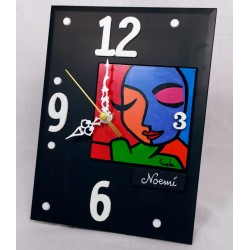 19. Reloj vertical...