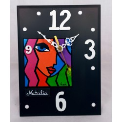 20. Reloj vertical...