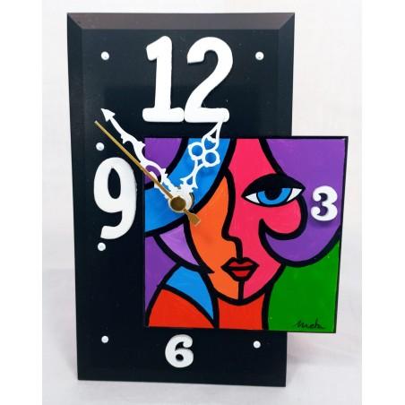 18. Reloj sobremesa vertical 13x17cm. Olivia