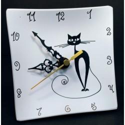 14. Reloj cristal sobremesa...