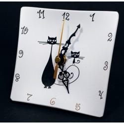 15. Reloj cristal sobremesa...