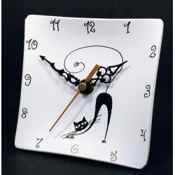 17. Reloj cristal sobremesa...